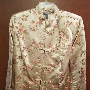 Kate Hill Silk/Rayon Women's Dress Jacket